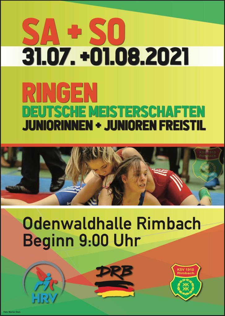 DM Juniorinnen mit Mia Oswald @ KSV Rimbach